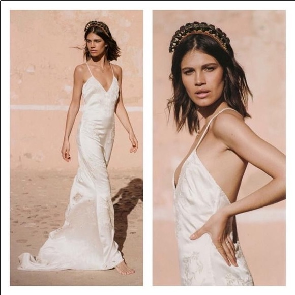 Spell The Gypsy Collective Dresses Odette Spell Bride Silk Slip